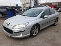 USED 2004 54 PEUGEOT 407 2.0 SE HDI 4d 135 BHP 12 Months AA Breakdown Cover