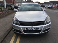 USED 2005 05 VAUXHALL ASTRA 1.6 SXI 16V TWINPORT 5d 100 BHP 12 months' AA Breakdown Cover