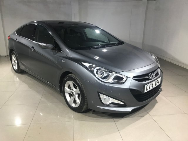 View our 2014 14 HYUNDAI I40 1.7 CRDI STYLE BLUE DRIVE 4d 134 BHP