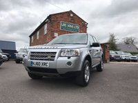 USED 2010 60 LAND ROVER FREELANDER 2.2 TD4 E GS 5d 159 BHP
