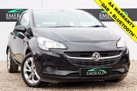 USED 2015 15 VAUXHALL CORSA 1.2 EXCITE AC 3d 69 BHP £0 DEPOSIT FINANCE AVAILABLE, FULL SERVICE HISTORY, LOW MILEAGE, TOUCH MEDIA, DAB, BLUETOOTH, HEATED FRONT SEATS