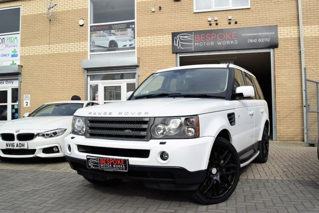 2009 09 LAND ROVER RANGE ROVER SPORT 2.7 TDV6 HSE AUTOMATIC 190 BHP