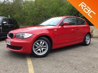 USED 2008 57 BMW 1 SERIES 118i ES 3 Door, 5 SERVICES, BLUETOOTH WITH MUSIC STREAMING  5 services, bluetooth, alloys