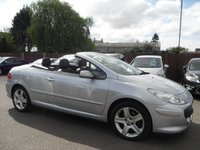 USED 2005 55 PEUGEOT 307 2.0 SE COUPE CABRIOLET HDI 2d  NO DEPOSIT  FINANCE ARRANGED, APPLY HERE NOW