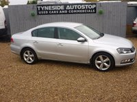 USED 2012 12 VOLKSWAGEN PASSAT 2.0 SE TDI BLUEMOTION TECHNOLOGY 4d 139 BHP 1 OWNER FROM NEW, LOW MILEAGE, FULL SERVICE HISTORY