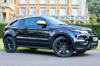 2013 LAND ROVER RANGE ROVER EVOQUE 2.2 SD4 SPECIAL EDITION 3d AUTO 190 BHP £27990.00