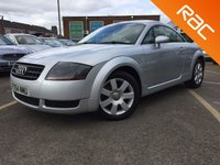 USED 2004 54 AUDI TT 1.8 T 3d AUTO 180bhp FULL BLACK LEATHER, 7 SERVICES 2 KEYS STUNNING EXAMPLE, 2 FORMER KEEPERS WITH HUGE HISTORY/SPEC