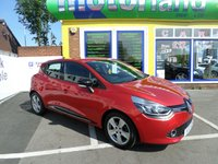USED 2013 13 RENAULT CLIO 1.1 DYNAMIQUE MEDIANAV 5d 75 BHP 12 MONTHS MOT... 6 MONTHS WARRANTY.. FINANCE AVAILABLE