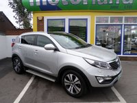 USED 2011 61 KIA SPORTAGE 1.7 CRDI 3 5d 114 BHP 12 MONTHS MOT... 3 MONTHS WARRANTY.. FINANCE AVAILABLE