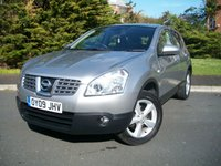 USED 2009 09 NISSAN QASHQAI 1.5 ACENTA DCI 5d 105 BHP From £27 Per Week, ONLY Two Owners From New, 25,000 Miles with Full Nissan Dealership Service History