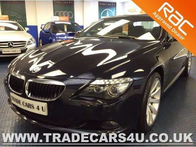 2010 60 BMW 6 SERIES 635D TWIN TURBO SPORT COUPE FACELIFT
