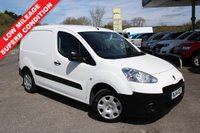 USED 2014 14 PEUGEOT PARTNER 1.6 HDI S L1 850 1d 89 BHP Lovely Low Mileage, Very Good Condition, One Owner.