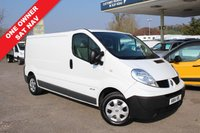 USED 2014 14 RENAULT TRAFIC 2.0 LL29 DCI S/R P/V 1d 115 BHP Satellite Navigation, 115 BHP, One Owner.