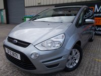 USED 2014 FORD S-MAX 1.6 ZETEC TDCI S/S 5d 115 BHP Excellent Condition, One Owner, FSH, Low Rate No Fee Finance Available