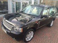 2010 LAND ROVER RANGE ROVER 3.6 TDV8 VOGUE 5d AUTO 271 BHP £19750.00