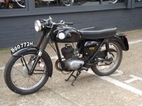 USED 1970 BSA BANTAM 175cc  HISTORIC 175 BANTAM