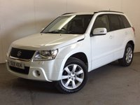 USED 2012 12 SUZUKI GRAND VITARA 2.4 SZ5 5d 166 BHP 5DR LEATHER SUNROOF PRIVACY FSH 4WD. FACELIFT MODEL. STUNNING WHITE WITH FULL BLACK LEATHER. HEATED SEATS. SUNROOF. CRUISE CONTROL. 18 INCH ALLOYS. COLOUR CODED TRIMS. PRIVACY GLASS. CLIMATE CONTROL. R/CD PLAYER. MFSW. MOT 04/18. ONE PREV OWNER. FULL SERVICE HISTORY. PRISTINE CONDITION. FCA FINANCE APPROVED DEALER. TEL 01937 849492