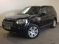 USED 2007 56 LAND ROVER FREELANDER 2 2.2 TD4 HSE 5d 159 BHP 4WD FACELIFT SAT NAV LEATHER PAN ROOF FSH 4WD. FACELIFT MODEL. SATELLITE NAVIGATION. PANORAMIC SUNROOF. STUNNING BLACK MET WITH FULL BLACK LEATHER TRIM. ELECTRIC MEMORY HEATED SEATS. CRUISE CONTROL. 18 INCH ALLOYS. COLOUR CODED TRIMS. PRIVACY GLASS. PARKING SENSORS. CLIMATE CONTROL. TRIP COMPUTER. R/CD PLAYER. 6 SPEED MANUAL. MFSW. TOWBAR. MOT 03/18. FULL SERVICE HISTORY. PRISTINE CONDITION. FCA FINANCE APPROVED DEALER. TEL 01937 849492.