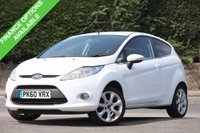 USED 2010 60 FORD FIESTA 1.2 ZETEC 3d 81 BHP 2 Lady Owners With S.H