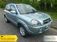 USED 2009 09 HYUNDAI TUCSON 2.0 PREMIUM CRDI 5d AUTO 148 BHP FANTASTIC ONE OWNER AUTOMATIC TUCSON WITH FULL LEATHER, CLIMATE CONTROL, CRUISE CONTROL, ALLOY WHEELS AND HYUNDAI SERVICE HISTORY