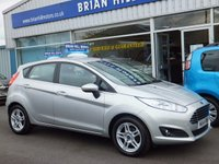 USED 2014 14 FORD FIESTA 1.25 ZETEC 5d