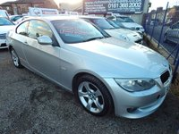 USED 2010 60 BMW 3 SERIES 2.0 320I SE 2d 168 BHP BLACK LEATHER, FRONT AND REAR PARKING SENSORS,F.S.H