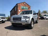 2009 LAND ROVER FREELANDER 2.2 TD4 E GS 5d 159 BHP £10495.00