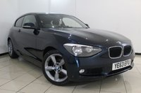 USED 2014 63 BMW 1 SERIES 2.0 118D SE 3DR 141 BHP AIR CONDITIONING + 0% FINANCE AVAILABLE T&C'S APPLY + PARKING SENSORS + BLUETOOTH + CRUISE CONTROL + MULTI FUNCTION WHEEL