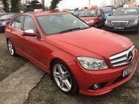 2008 MERCEDES-BENZ C CLASS 2.1 C220 CDI SPORT 4d AUTO 168 BHP £8295.00
