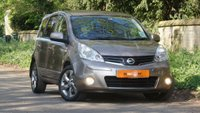 USED 2011 11 NISSAN NOTE 1.5 N-TEC DCI 5dr FSH SATNAV DRIVES SUPERB