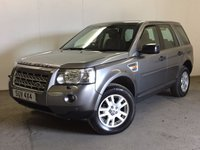 USED 2007 07 LAND ROVER FREELANDER 2 2.2 TD4 SE 5d 159 BHP SAT NAV PAN ROOF LEATHER PDC 4WD. FACELIFT MODEL. SATELLITE NAVIGATION. PANORAMIC SUNROOF. STUNNING GREY MET WITH HALF BLACK LEATHER TRIM. ELECTRIC HEATED SEATS. CRUISE CONTROL. 17 INCH ALLOYS. COLOUR CODED TRIMS. PARKING SENSORS. CLIMATE CONTROL. TRIP COMPUTER. R/CD/MP3 PLAYER. 6 SPEED MANUAL. MFSW. TOWBAR. MOT 04/18. SERVICE HISTORY. PRISTINE CONDITION. FCA FINANCE APPROVED DEALER. TEL 01937 849492.