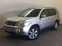 USED 2007 57 NISSAN X-TRAIL 2.0 AVENTURA EXPLORER DCI 5d AUTO 148 BHP SAT NAV LEATHER PRIVACY PDC FSH 4WD. SATELLITE NAVIGATION. PANORAMIC SUNROOF. STUNNING SILVER MET WITH FULL BLACK LEATHER TRIM. ELECTRIC HEATED SEATS. CRUISE CONTROL. 17 INCH ALLOYS. COLOUR CODED TRIMS. PRIVACY GLASS. CLIMATE CONTROL. TRIP COMPUTER. R/CDPLAYER. MFSW. TOWBAR. MOT 04/18. FULL SERVICE HISTORY. PRISTINE CONDITION. FCA FINANCE APPROVED DEALER. TEL 01937 849492.