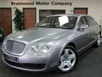 USED 2006 55 BENTLEY CONTINENTAL FLYING SPUR 6.0 FLYING SPUR 5 SEATS 4d AUTO 550 BHP