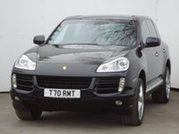 USED 2009 59 PORSCHE CAYENNE 3.0 D TIPTRONIC S 5d AUTO 240 BHP + FULL BLACK LEATHER WITH HEATED SEATS + BLUETOOTH +FULL SERVICE HISTORY + SATELLITE  NAVIGATION + PSM +