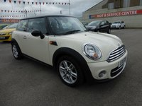 2011 MINI HATCH COOPER 1.6 COOPER D 3d 112 BHP £5995.00