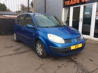 USED 2005 05 RENAULT SCENIC 1.4 RUSH 16V 5d 97 BHP
