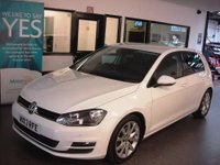 USED 2013 13 VOLKSWAGEN GOLF 2.0 GT TDI BLUEMOTION TECHNOLOGY DSG 5d AUTO 148 BHP Two owners, Full VW service history, February 2018 Mot. Fitted with Tech Pack- Sat Nav, DAB & Bluetooth