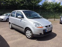 USED 2009 09 CHEVROLET MATIZ 1.0 SE A/C 5d  LOW TAX AND INSURANCE PART EXCHANGE TO CLEAR