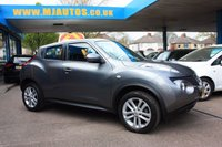 USED 2014 14 NISSAN JUKE 1.6 ACENTA 5dr LOW MILEAGE | DRIVE AWAY TODAY | FROM 4% FLAT RATE