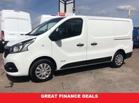 2015 RENAULT TRAFIC SWB 1.6 SL27 BUSINESS PLUS DCI S/R 115 BHP 1 OWNER FSH £10295.00