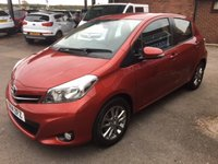 USED 2014 14 TOYOTA YARIS 1.0 VVT-I ICON PLUS 5d 69 BHP SAT NAV, REAR PARKING CAMERA
