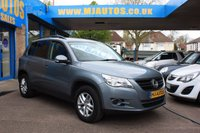 USED 2008 58 VOLKSWAGEN TIGUAN 2.0 S TDI 5dr 138 BHP VERY NICE SUV, COMPLETE WITH TOW BAR, READY FOR YOUR JOLLIES, INCLUDING A FULL WARRANTY PACKAGE