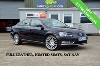 USED 2014 VOLKSWAGEN PASSAT 2.0 EXECUTIVE TDI 139 BHP *FULL LEATHER INTERIOR* *FROM £139 MONTHLY*