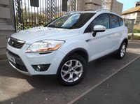 USED 2013 62 FORD KUGA 2.0 ZETEC TDCI 2WD 5d 138 BHP ****FINANCE ARRANGED***PART EXCHANGE***1 OWNER**12 MONTHS MOT