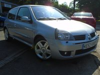USED 2002 52 RENAULT CLIO 2.0 RENAULTSPORT 16V 3d 172 BHP THIS TOP SPEC CLIO WILL COME WITH A NEW MOT ON SALE.