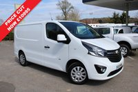 USED 2015 15 VAUXHALL VIVARO 1.6 2700 L1H1 CDTI P/V SPORTIVE 1d 115 BHP One Owner, 115 BHP, Air Conditioning.