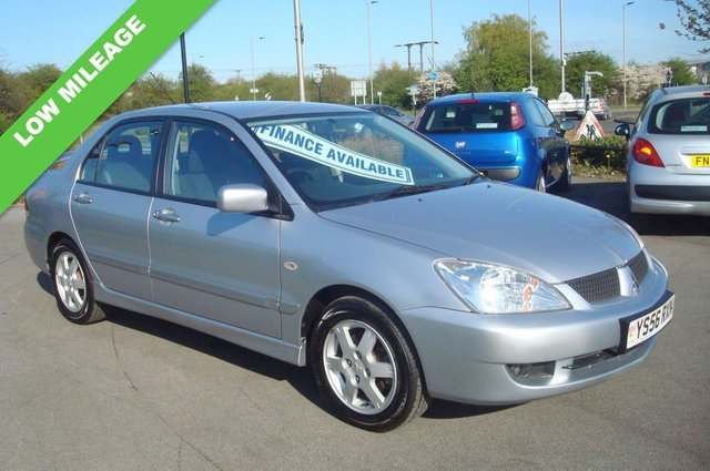 2007 56 MITSUBISHI LANCER 1.6 EQUIPPE 4d 97 BHP PX TO CLEAR LOW MILEAGE