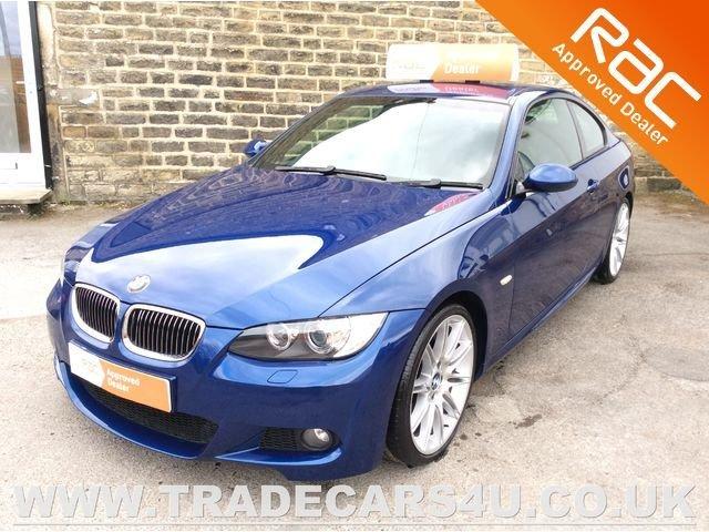 2009 09 BMW 3 SERIES 330D M SPORT HIGHLINE COUPE DIESEL AUTO