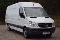 USED 2013 13 MERCEDES-BENZ SPRINTER 2.1 313 CDI LWB 129 BHP