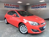 USED 2014 14 VAUXHALL ASTRA 2.0 ELITE CDTI S/S 5d 163 BHP Full Vauxhall service history , Full Leather , Cruise Control